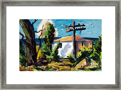Where I Will Be Double Matted And Plexi-glass Metal Framed Framed Print by Charlie Spear
