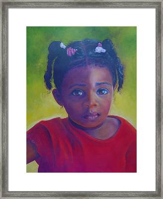 Where Is My Mommy Framed Print by Merle Blair