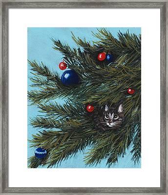 Where Is Santa Framed Print