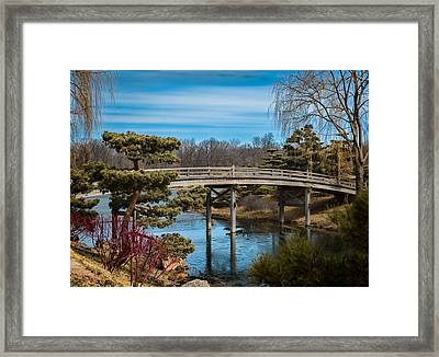 Where Is Spring? Framed Print by Kathleen Scanlan