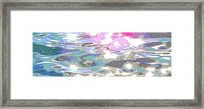 Where Is Water's Panda Framed Print