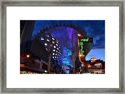 Where It All Started Framed Print