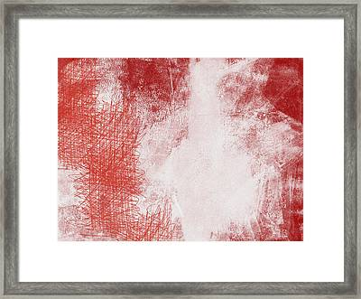 Where It Takes You- Abstract Art By Linda Woods Framed Print by Linda Woods