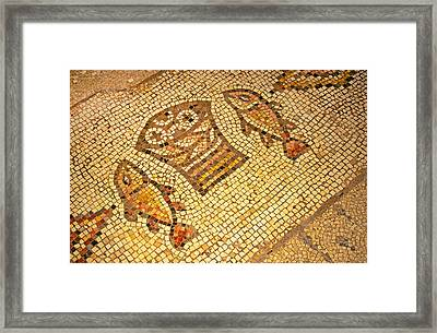 Where Jesus Fed The Multitudes Framed Print by Buddy Mays