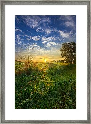 Where My Heart Belongs Framed Print