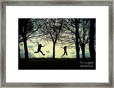 Where My Wild Things Are Framed Print by Catherine MacBride