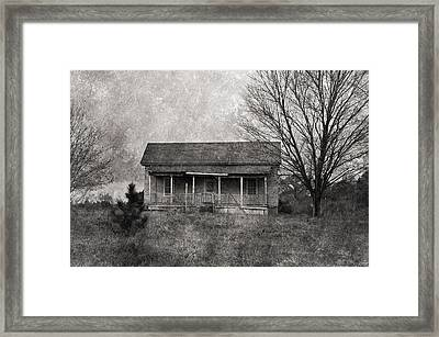 Where Nobody Lives Framed Print