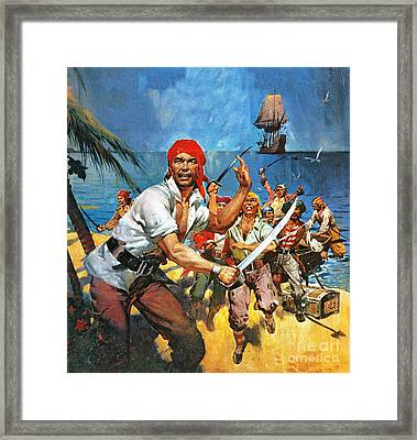 Where Once Buccaneers Reigned Framed Print