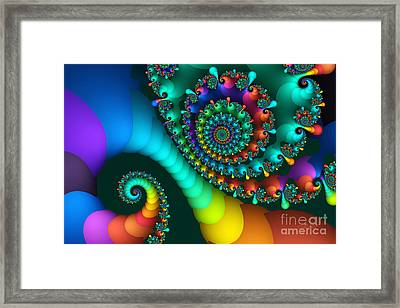 Where Rainbows Are Made Framed Print