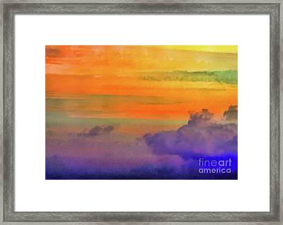 Where Rainbows Begin Framed Print by Robyn King