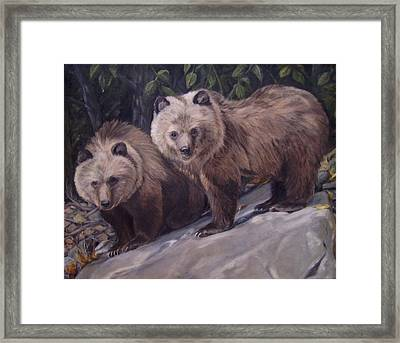 Where S Momma Framed Print by Tahirih Goffic