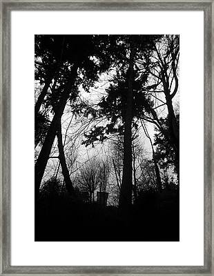 Where Secrets Sleep  Framed Print by Jaeda DeWalt