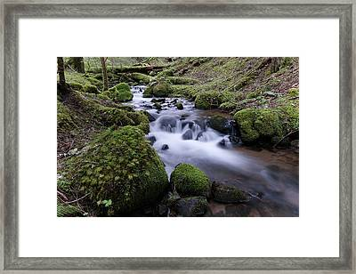 Where Serenity Flows Framed Print by Jeff Swan