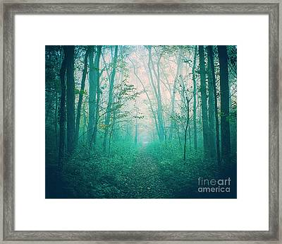 Where The Air Is Thick Framed Print