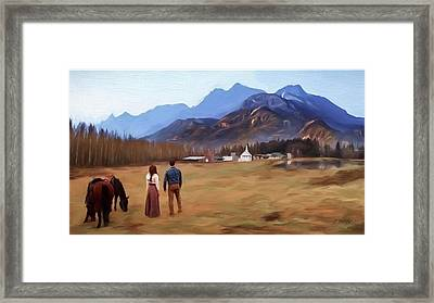Where The Heart Is - Landscape Art Framed Print