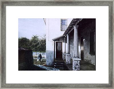 Where The Heart Is Framed Print by Steven J White PWS