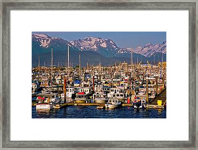 Where The Land Ends ... Framed Print by Juergen Weiss