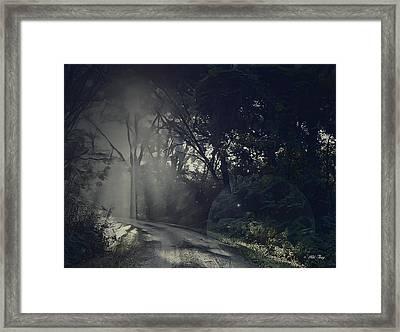 Where The Light Gets In Framed Print