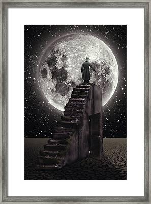 Where The Moon Rise Framed Print