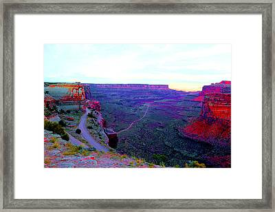 Where The Path Takes You Framed Print by Jeff Swan