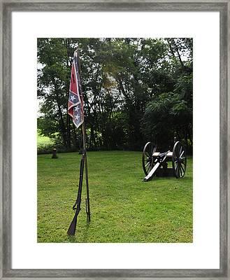 Where The Rebs Camp Framed Print
