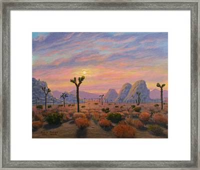 Where The Sun Sets Framed Print