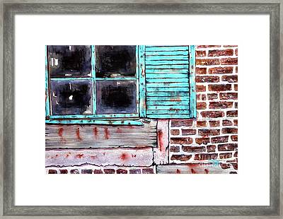 Where The Warehouse Was Framed Print by Tim Ross