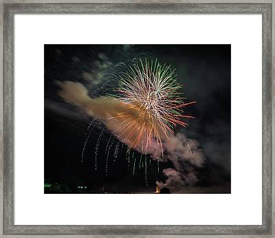 Framed Print featuring the photograph Where There's Smoke by Bill Pevlor