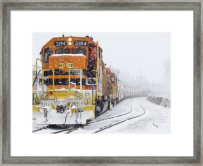 Where They Go No One Knows Framed Print by Nick Mares