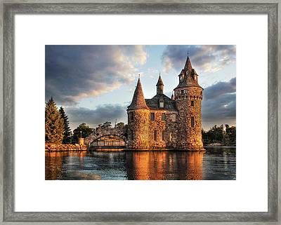Where Time Stands Still Framed Print by Lori Deiter