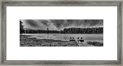 Framed Print featuring the photograph Where To View Twin Ponds by David Patterson