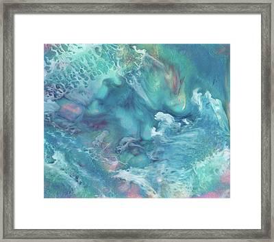 Where Unicorns Live Framed Print by Miabella Mojica