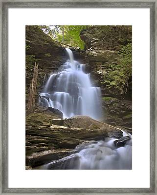 Where Waters Flow Framed Print by Evelina Kremsdorf