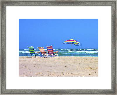 Where We Want To Be Framed Print by Betsy Knapp