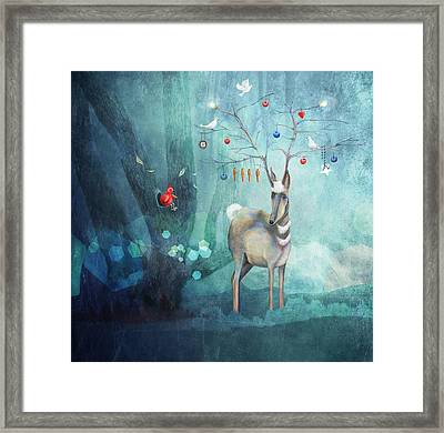 Where Will You Go? Framed Print by Catherine Swenson