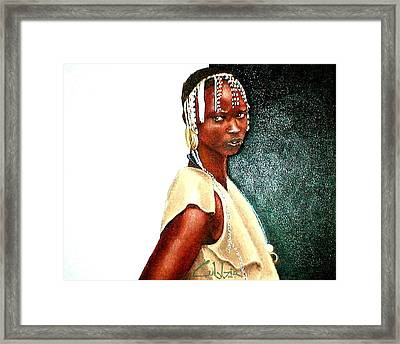 Where You Goin Framed Print by G Cuffia