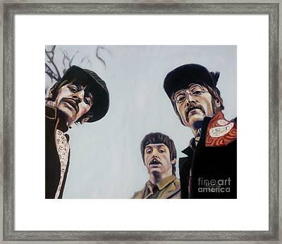 Where's George? Framed Print