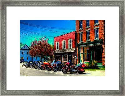 Where's My Ride - Old Forge Ny Framed Print by David Patterson