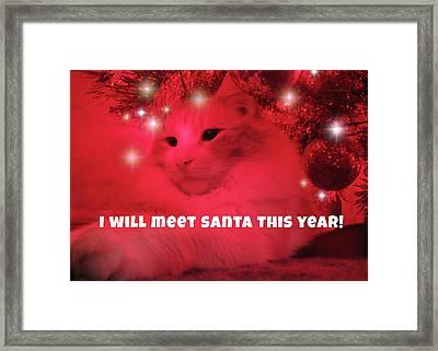 Where's Santa? Framed Print by JAMART Photography