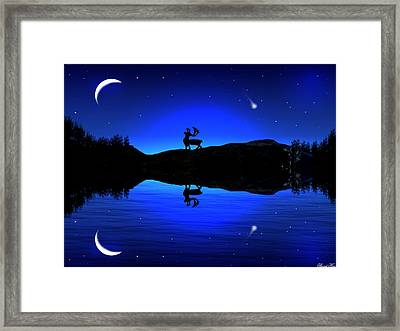 Wherever I May Roam Framed Print