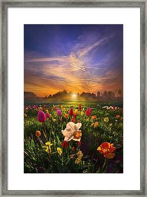Wherever The Journey Takes Us Framed Print