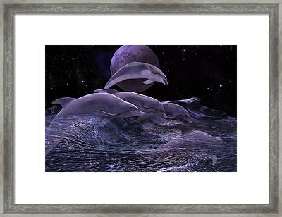 Wherever You May Roam Framed Print