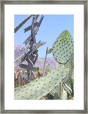 Framed Print featuring the photograph Which Way Did They Go? by John Glass