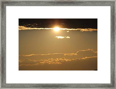 Which Way Is Up Framed Print by Julie Smith