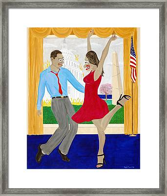 While America Withers Framed Print