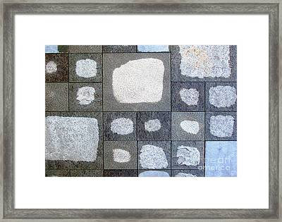 While We Were Having Lunch It Rained Framed Print by Ethna Gillespie