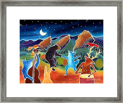 While We Were Sleeping Framed Print by Harriet Peck Taylor
