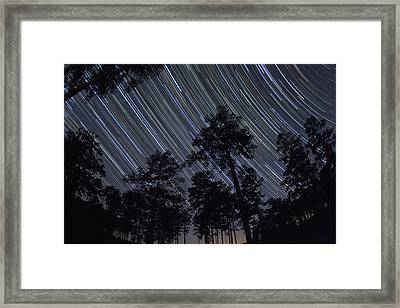 While You Were Sleeping Framed Print by Dan Wells