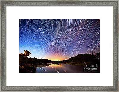 While You Were Sleeping Framed Print by Todd Bielby