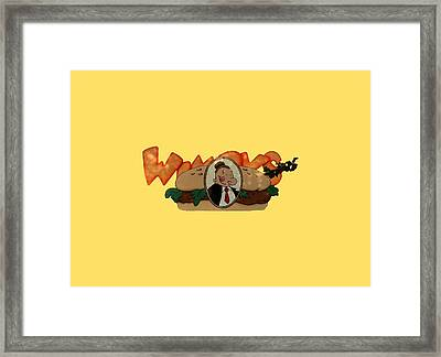 Framed Print featuring the photograph Whimpy by Tom Prendergast